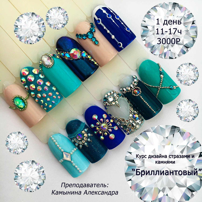 Стразы и камни для ногтей