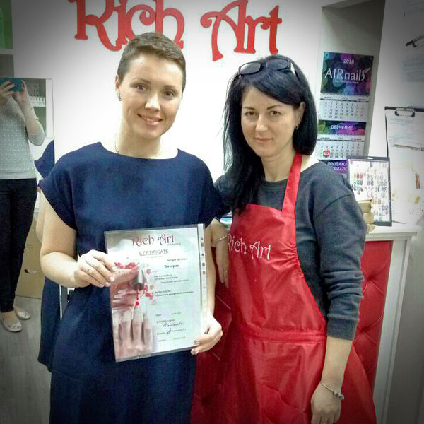 Выпускники школы Rich Art