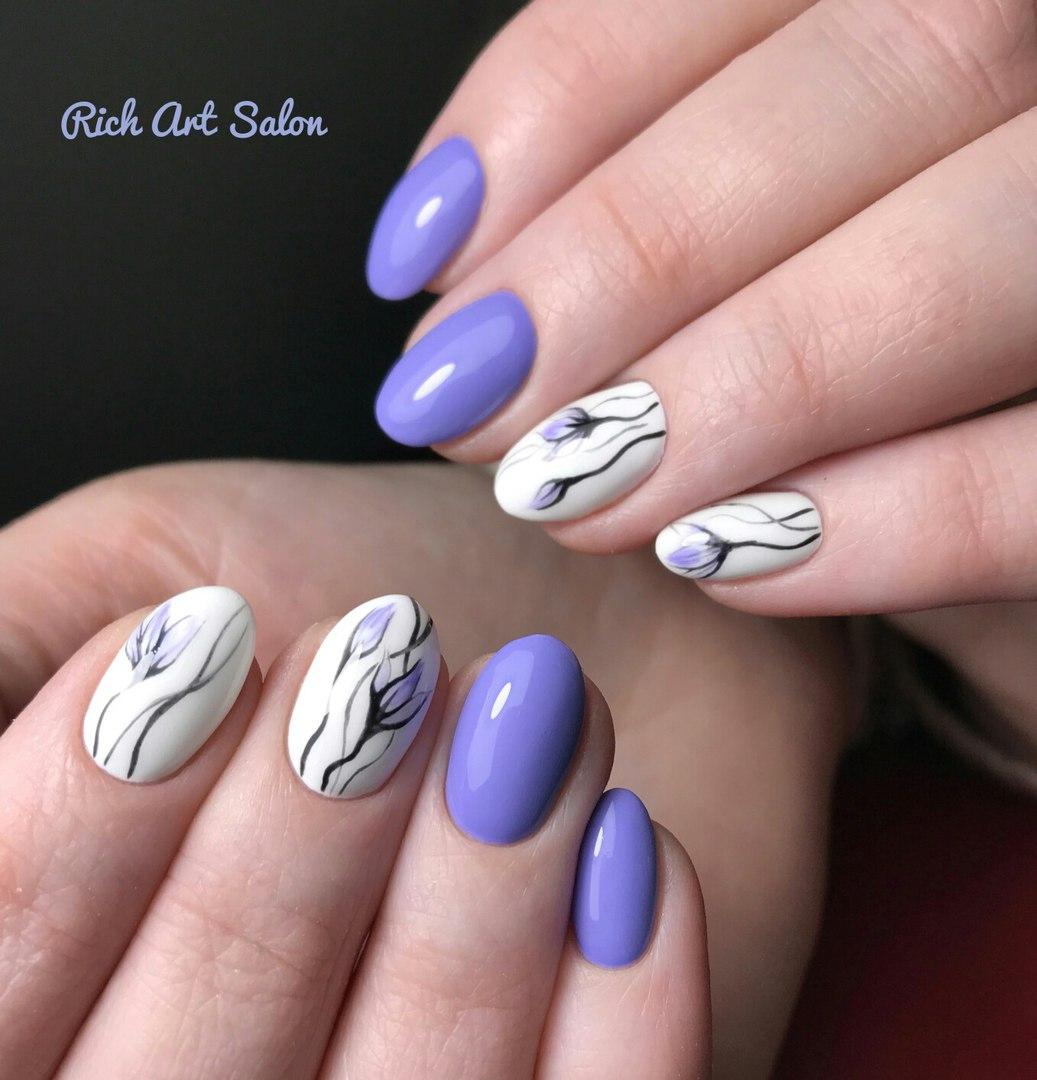 Весенний дизайн ногтей. Как сделать?